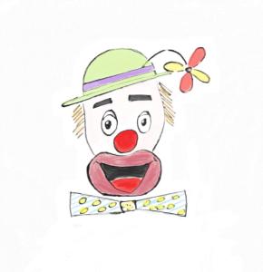 Help! I think my mind's a clown!